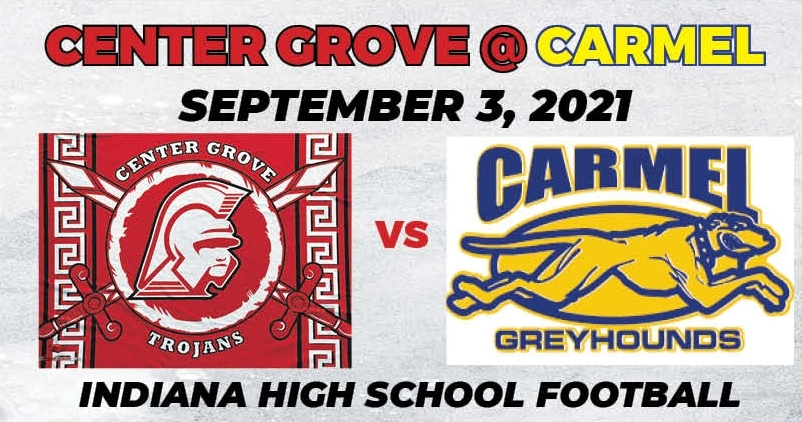 Center Grove vs Carmel Youtube Thumbnail 2021